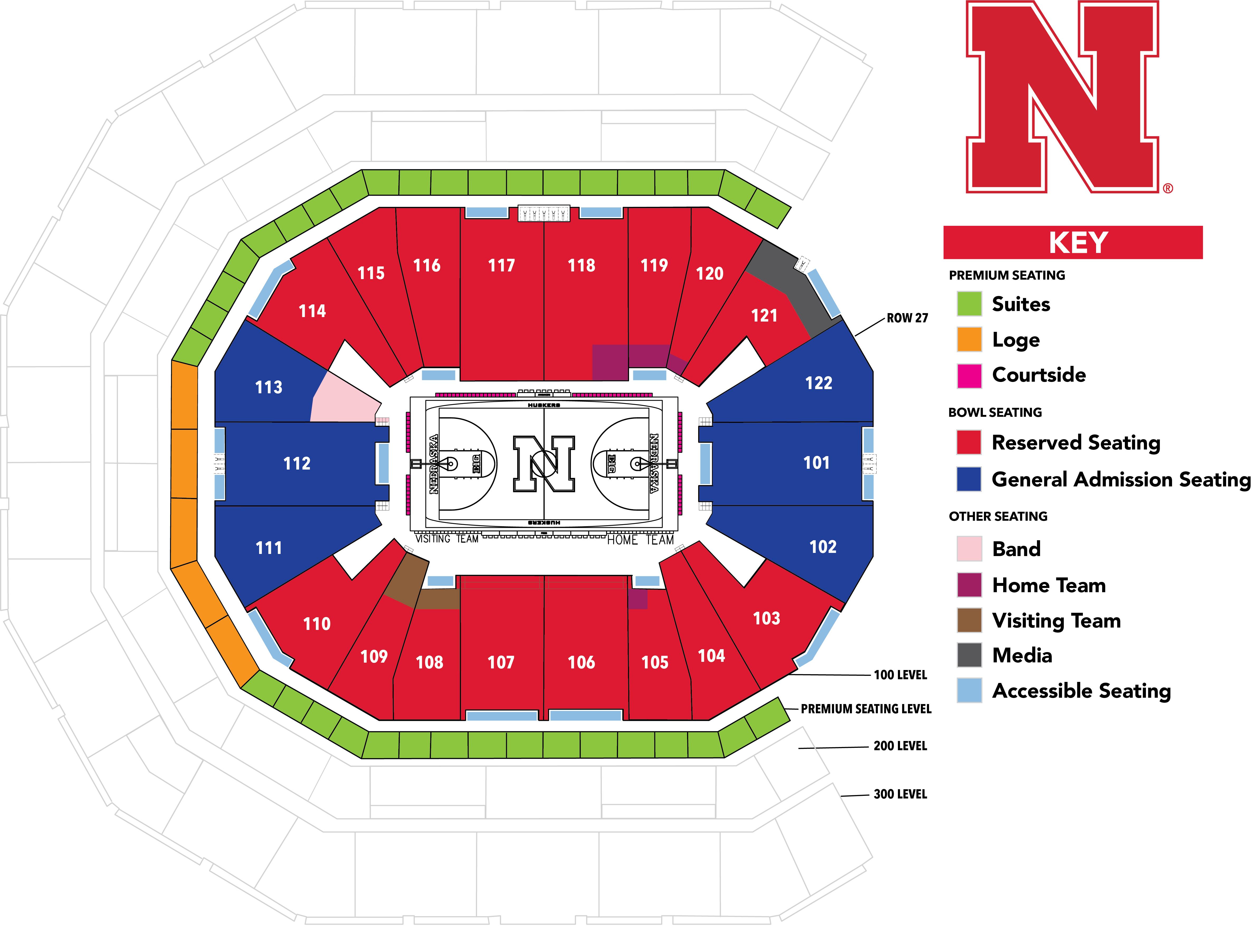 University of Nebraska | Online Ticket Office | My Account